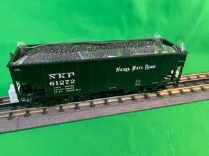 "MTH 20-92260 - Flat End Offset Hopper Car Set ""Nickel Plate Road"" (6-Car) - Set #1"