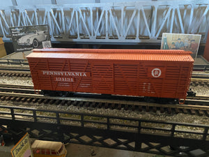 "Lionel 2022102 - Vision Line Stock Car ""Pennsylvania"" - from Trainmaster Freight Set"