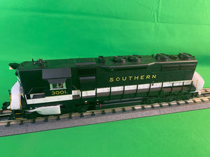 "MTH 20-21430-1 - SD-35 Diesel Engine ""Southern"" w/ PS3 #3004X (Hi-Rail Wheels)"