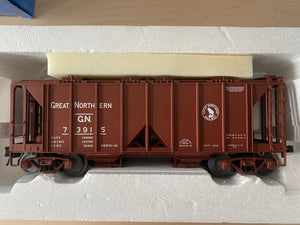 "Atlas O 8353-1 - ACF 70T Covered Hopper Car ""Great Northern"" - Second Hand"