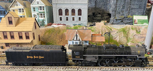 "MTH 20-3568-1 - 2-8-4 Berkshire Steam Engine ""Nickel Plate Road"" w/ PS3 (Hi-Rail Wheels) - Second Hand"
