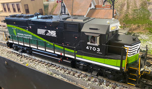 "MTH 20-20840-1 - GP-40 Diesel Engine ""Norfolk Southern"" w/ PS3 - Second Hand"