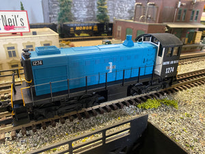 "MTH 20-21401-1 - Alco S-2 Switcher Diesel Engine ""Boston & Maine"" w/ PS3 #1274"