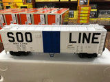 "MTH 20-92113 - 40' Steel Sided Reefer Set ""SOO Line"" (6-Car)"
