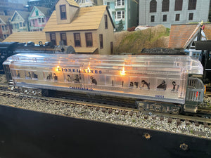 Lionel 6-29087/6-29088/6-29089 - Clear 100th Anniversary Madison Passenger Cars - Second Hand