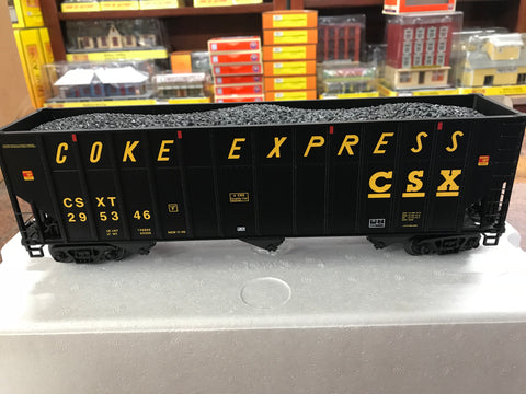"MTH 20-92126 - Coke Hopper Car Set ""CSX"" (4-Car)"