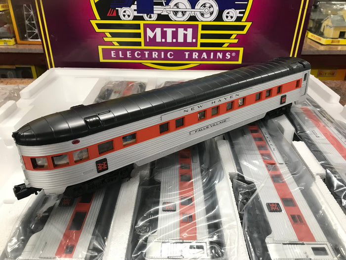 "MTH 20-65214 - 70' Streamlined Passenger Set ""New Haven"" (5-Car)"