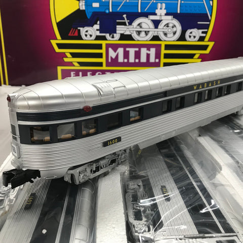 "MTH 20-65272 - 70' Streamlined Passenger Set ""Wabash"" (5-Car)"