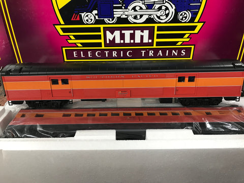 "MTH 20-69216 - 70' Streamlined Baggage/Coach Passenger Set ""Southern Pacific"" (2-Car)"