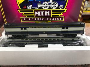 "MTH 20-69221 - 70' Streamlined Baggage/Coach Pass Set ""Baltimore & Ohio"" (2-Car)"