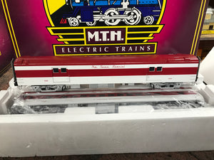 "MTH 20-69228 - 70' Streamlined Baggage/Coach Passenger Set ""Texas Special"" (2-Car)"