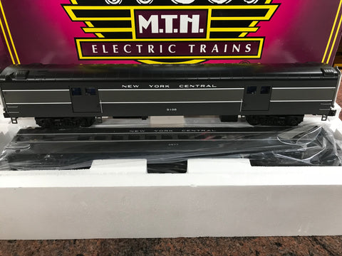"MTH 20-69283 - 70' Streamlined Baggage/Coach Passenger Set ""New York Central"" (2-Car)"