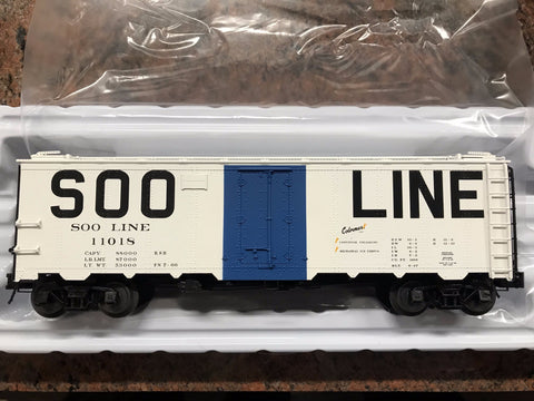 Any significance to SOO white boxcars, some having blue