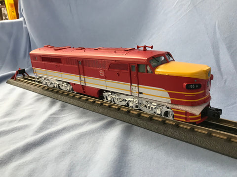 "MTH 20-20841-1 - Alco PA A Unit Diesel Engine ""MKT"" w/ PS3 (Hi-Rail Wheels)"