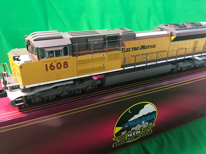 "MTH 20-20962-1 - SD70ACe Diesel Engine ""EMD Demonstrator"" #1607 w/ PS3 (Hi-Rail Wheels)"