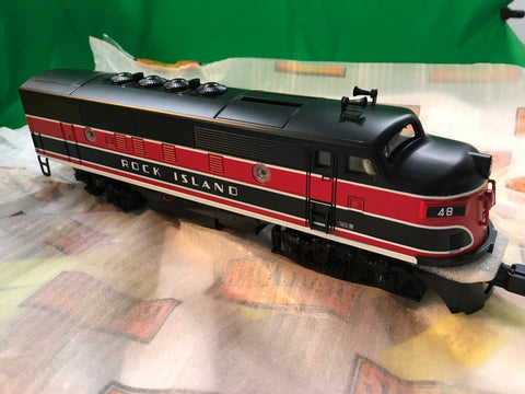 "MTH 30-20461-1 - F-3 ABA Diesel Engine Set ""Rock Island"" w/ PS3"