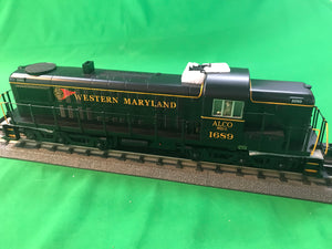 "MTH 30-20481-1 - RSD-5 Diesel Engine ""Western Maryland"" #1689 w/ PS3"