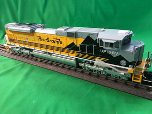"MTH 20-20958-1 - SD70ACe Diesel Engine ""Denver & Rio Grande"" #1989 w/ PS3 (Hi-Rail Wheels)"