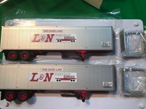 "Lionel 6-84884 - 40' Trailer ""Louisville & Nashville"" (2-Pack)"