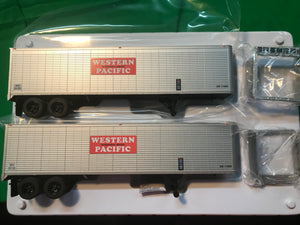 "Lionel 6-84887 - 40' Trailer ""Western Pacific"" (2-Pack)"
