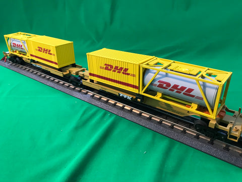 "MTH 20-95299 - Spine Car Set ""TTX"" w/ (1) Tank Container (1) 20' Container (2-Car)"