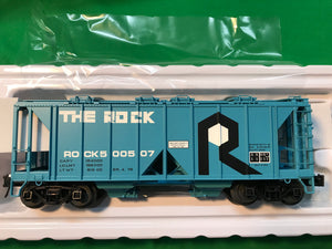 "Atlas O 3005116 - 70 Ton Covered Hopper ""Rock Island"" (ROCK)"