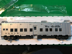 "Atlas O 3007716 - Express Box Car ""Rio Grande"" - MW Diner Kitchen Car"