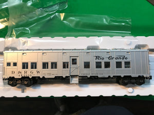 "Atlas O 3007715 - Express Box Car ""Rio Grande"" - MW Foreman Office"