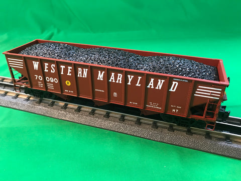 "MTH 20-97880 - 70-ton 3-Bay Hopper Car ""Western Maryland"""