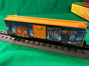 "MTH 30-74934 - Box Car ""Halloween"" w/ Glowing LEDs"