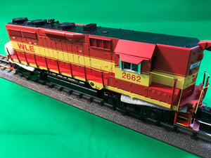 "MTH 20-20982-1 - GP-35 High Hood Diesel Engine ""Wheeling & Lake Erie"" #2662 w/ PS3 (Hi-Rail Wheels)"