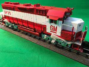 "MTH 20-20978-1 - GP-35 Low Hood Diesel Engine ""Electro Motive Division"" w/ PS3 #1965 (Hi-Rail Wheels)"