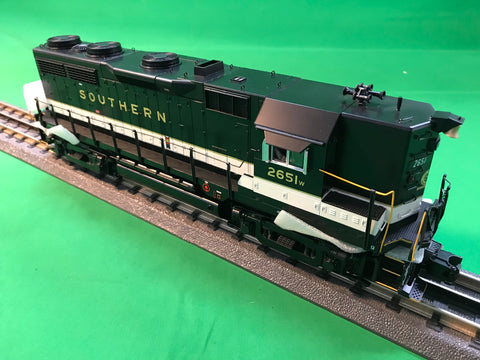 "MTH 20-20985-1 - GP-35 High Hood Diesel Engine ""Southern"" #2665 w/ PS3 (Hi-Rail Wheels)"