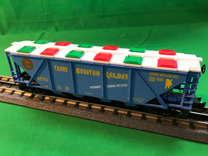 "Lionel 6-82742 - Christmas Quad Hopper ""Candy Mountain Railway"""