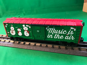 "Lionel 6-84748 - Music Boxcar ""Christmas"" #18"