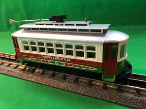 "MTH 30-5146 - Bump-n-Go Trolley ""Christmas"""