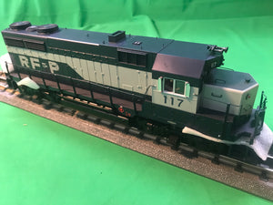 "MTH 20-20986-1 - GP-35 Low Hood Diesel Engine ""Richmond, Fredericksburg & Potomac"" #112 w/ PS3 (Hi-Rail Wheels)"