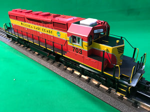 "MTH 20-20993-1 - SD40-2 Diesel Engine ""Florida East Coast"" #703 w/ PS3"