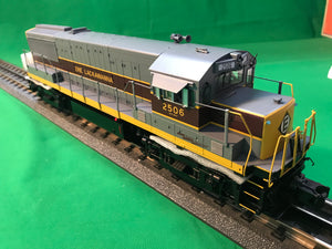 "MTH 20-21041-1 - U25B Diesel Engine ""Erie Lackawanna"" #2511 w/ PS3 (Hi-Rail Wheels)"