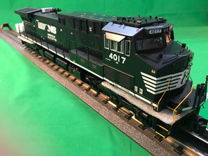 "MTH 20-20806-1 - AC4400cw Diesel Engine ""Norfolk Southern"" #4017 w/ PS3 (Hi-Rail Wheels)"
