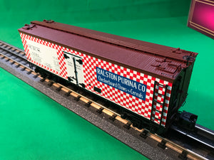 "MTH 20-94420 - 36' Woodsided Reefer Car ""Ralston Purina"""