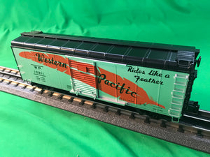 "Lionel 6-81829 - Round Roof Boxcar ""Western Pacific"""