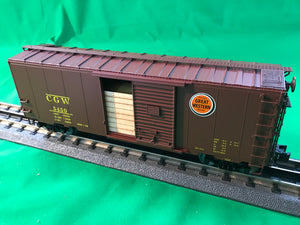 "Lionel 6-83571 - Grain Door PS-1 Boxcars ""Chicago Great Western"""