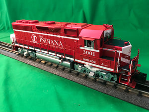 "MTH 20-21019-1 - GP-40 Diesel Engine ""Indiana Railroad"" #3002 w/ PS3 (Hi-Rail Wheels)"