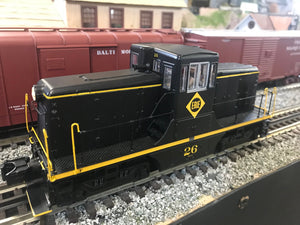 "MTH 20-20969-1 - G.E. 44 Ton Phase 3 Diesel Engine ""Erie"" #26 w/ PS3 (Hi-Rail Wheels)"