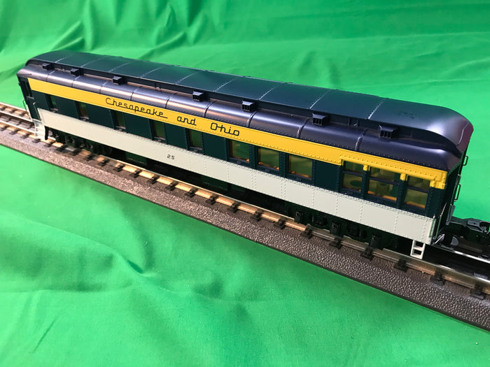 "MTH 30-69285 - 60' Madison Passenger Set ""Chesapeake & Ohio"" (4-Car)"