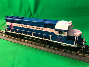 "MTH 20-21022-1 - GP-40 Diesel Engine ""Florida East Coast"" #425 w/ PS3 (Hi-Rail Wheels)"