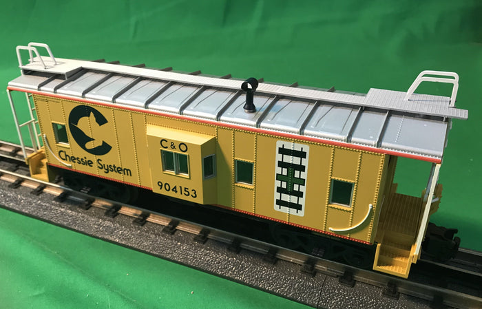 "Atlas O 2001738 - Trainman - Bay Window Caboose ""Chessie"" Handle with Care"