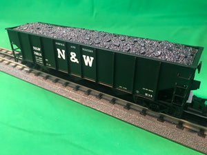 "Atlas O 2001824 - Trainman - AAR 70 Ton 3-Bay Open Hopper ""Norfolk & Western"""
