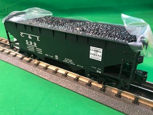 "MTH 20-92199 - 2-Bay Offset Hopper Car Set ""Cambria & Indiana"" (6-Car) - Set #1"